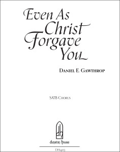 Even As Christ Forgave You [cover]